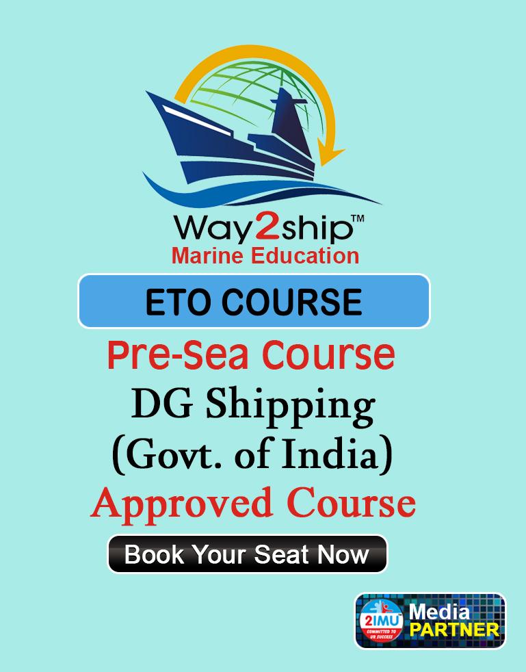 ETO Course Admission | Way2ship® Marine Education